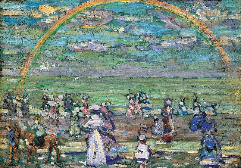 Maurice_Prendergast_Rainbow_1905