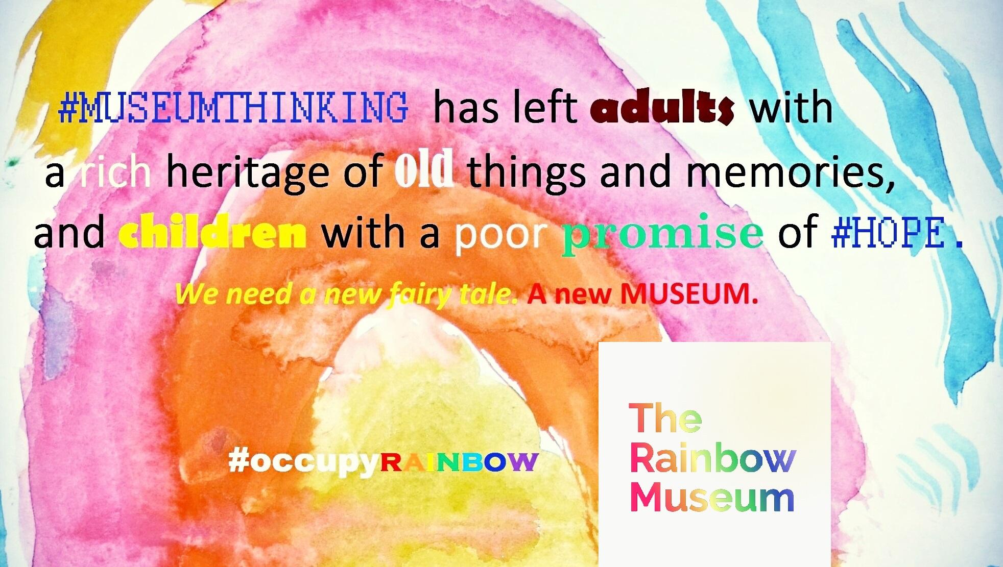 Occupy Rainbow poster 2019