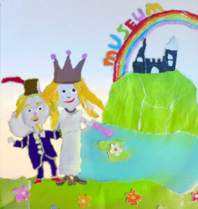 The royal wedding - Princess Iris and The Rainbow Museum