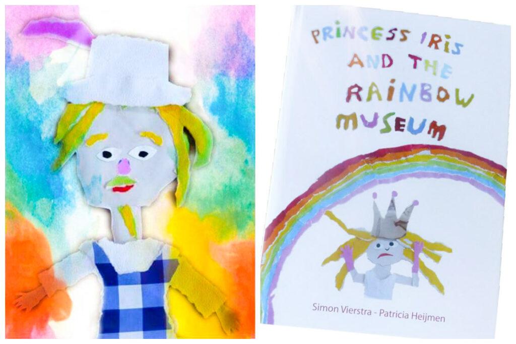 Princess Iris and The Rainbow Museum Cover